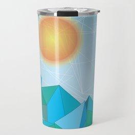 Landscape - geomertic work Travel Mug