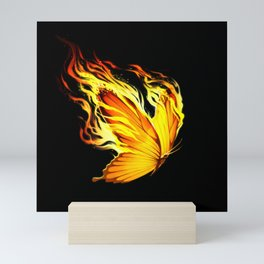 BurnOut Mini Art Print