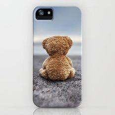 Teddy Blue Slim Case iPhone (5, 5s)