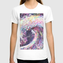 Wave - Colorful Wave Art T-shirt
