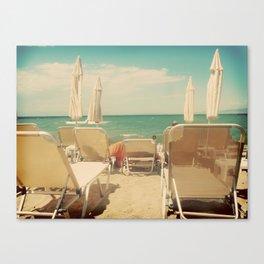 Cinematic Shoreline Canvas Print