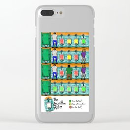 The Unwritten Rule Clear iPhone Case