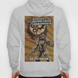 Fallout 4 - Brotherhood of Steel recruitment flyer Hoody