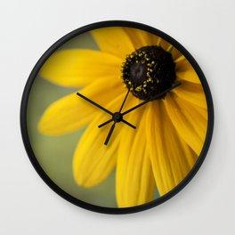 Black Eyed Susan Wall Clock