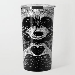 Love Raccoon Travel Mug
