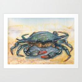 Chesapeake Blue Crab Art Print