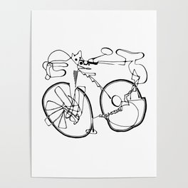10-Speed Poster