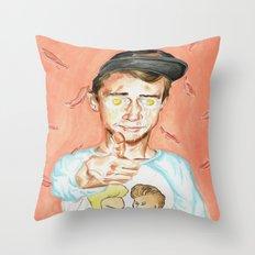 Get Fried Throw Pillow