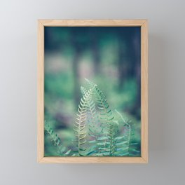 Deep in the Forest Framed Mini Art Print