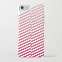 bands iPhone & iPod Cases featuring Red Bands by blacknote