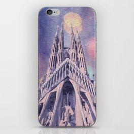 Barcelona Sagrada Familia iPhone Skin
