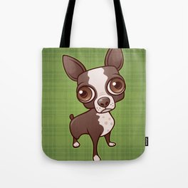 Zippy the Boston Terrier Tote Bag