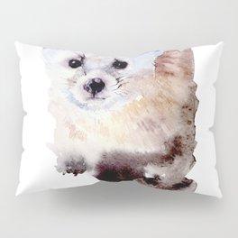 Watercolor Ailurus Painting Pillow Sham