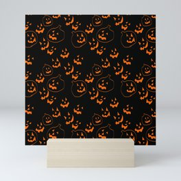 Jack O Lanterns Mini Art Print