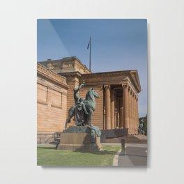Museum Statue Metal Print