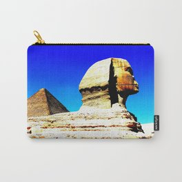 Sphinx and Pyramid Carry-All Pouch