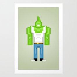 PixelWorld vol. 1   #87 Art Print