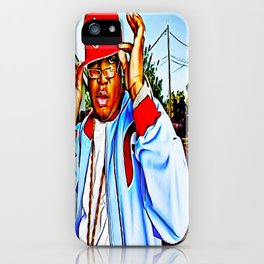 """""""SYNONYMOUS W/ BAY AREA RAP"""" iPhone Case"""