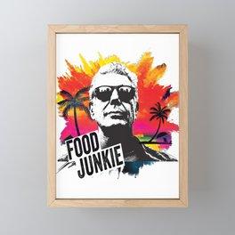 Food Junkie Framed Mini Art Print