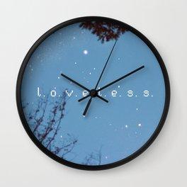L.O.V.E.L.E.S.S. Wall Clock