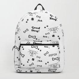 Good Dog - Dog Themed Pattern Backpack