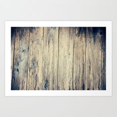 Wood Photography II Art Print