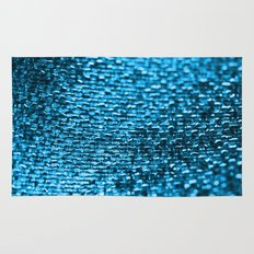 Texture in Turquoise Rug