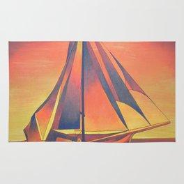 Sienna Sails at Sunset Rug