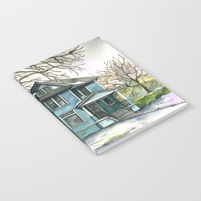 The House Under the Big Tree Notebook