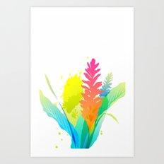 Pattern colori 2 Art Print