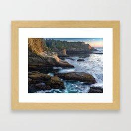 Cape Flattery Framed Art Print