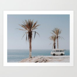 summer road trip Art Print
