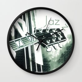 Double bass and Guitar Wall Clock