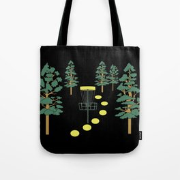 Disc Golf Stupid Trees Woods Men Women Court Gift Tote Bag