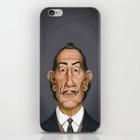 celebrity iPhone & iPod Skins featuring Celebrity Sunday ~ Salvador Dali by rob art | illustration