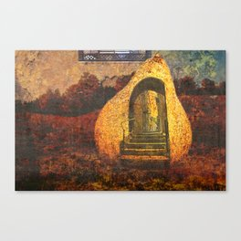 exit within Canvas Print