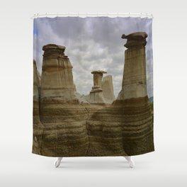 Hoodoos Shower Curtain