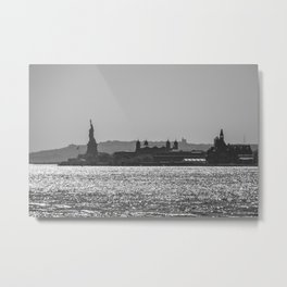 Liberty Island Metal Print