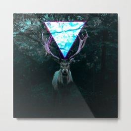 Deer's Eye Metal Print
