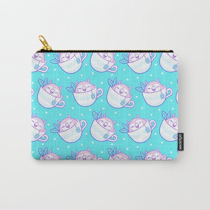 Owl Tea Carry-All Pouch