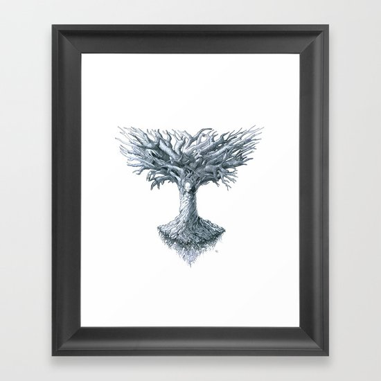 The Tree of Many Things Framed Art Print