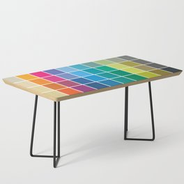Colorful Soul - All colors together Coffee Table