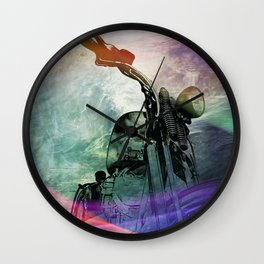Rainbow Mist Wall Clock