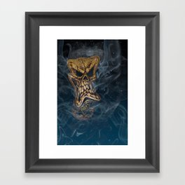 The Stuff Nightmares Are Made Of Framed Art Print