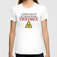 triforce T-shirts featuring Lousy Triforce by Mike Handy Art