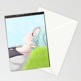 Mystic Messenger - Gentle V (Snapchat series) Stationery Cards