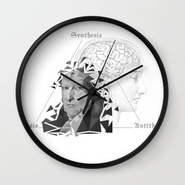 The Legacy of Hegel Wall Clock