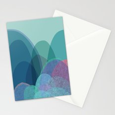 It is not the mountain we conquer but ourselves Stationery Cards