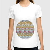 knitting T-shirts featuring KNITTING #3 by NADEZDA FAVA