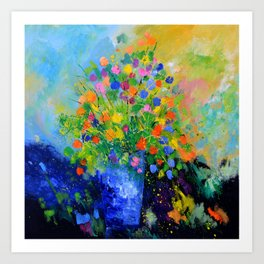 Colourful still life Art Print